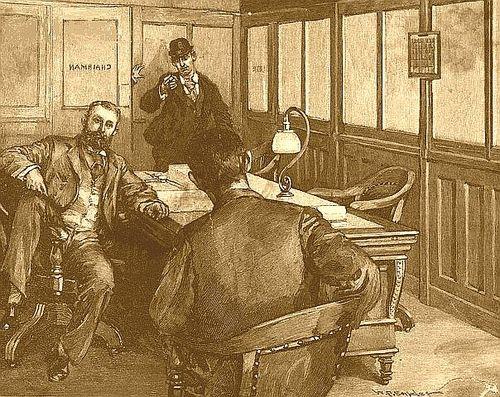 Alexander Berkman tire sur Henry Clay Frick