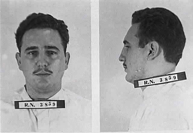 Castro lors de sa détention