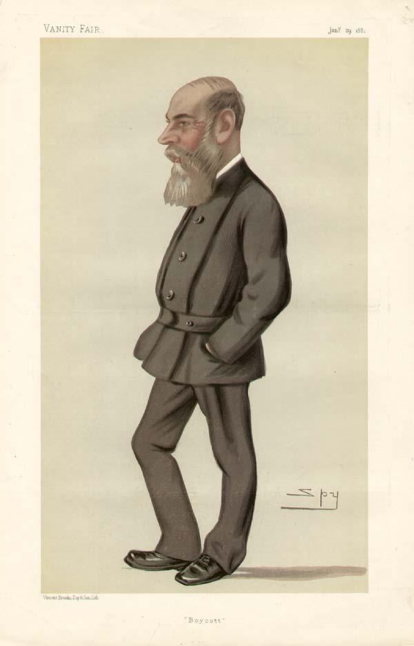 Le capitaine e.r. Charles Cunningham Boycott