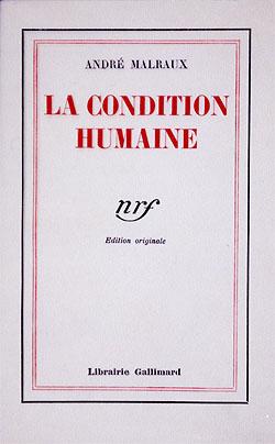 L'édition originale de La Condition humaine
