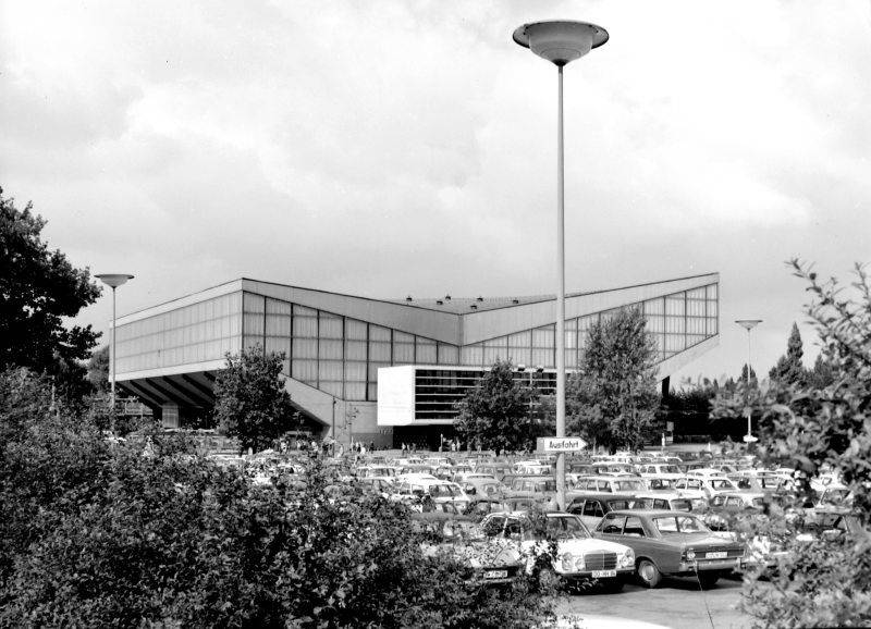 La Grugahalle de Essen