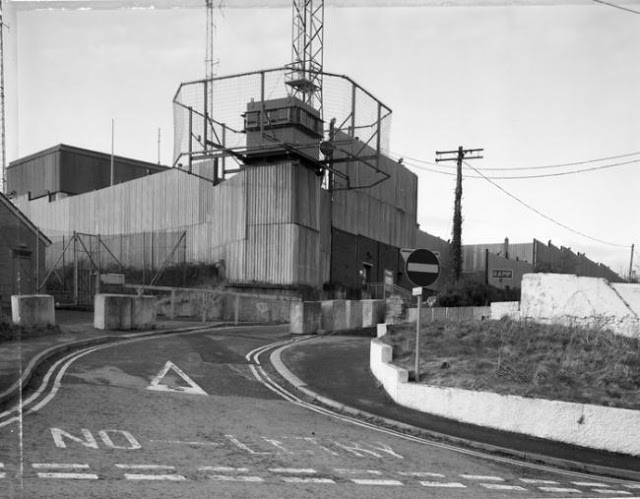 Forkhill Security force base Forkhill, South Armagh