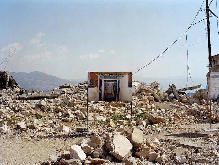 La prison devenue musée, après le bombardement israélien