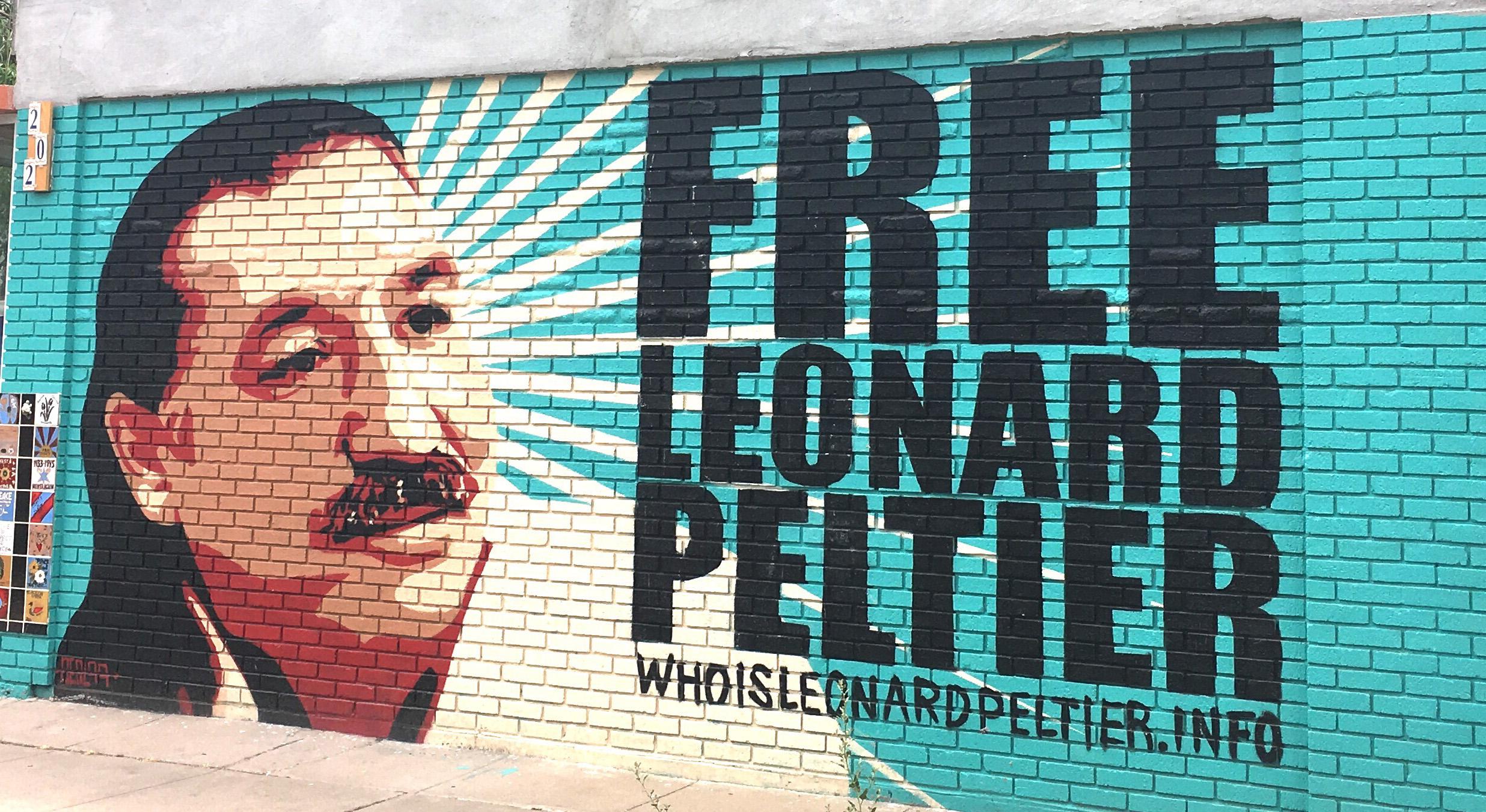 Leonard Peltier, emprisonné depuis 1976