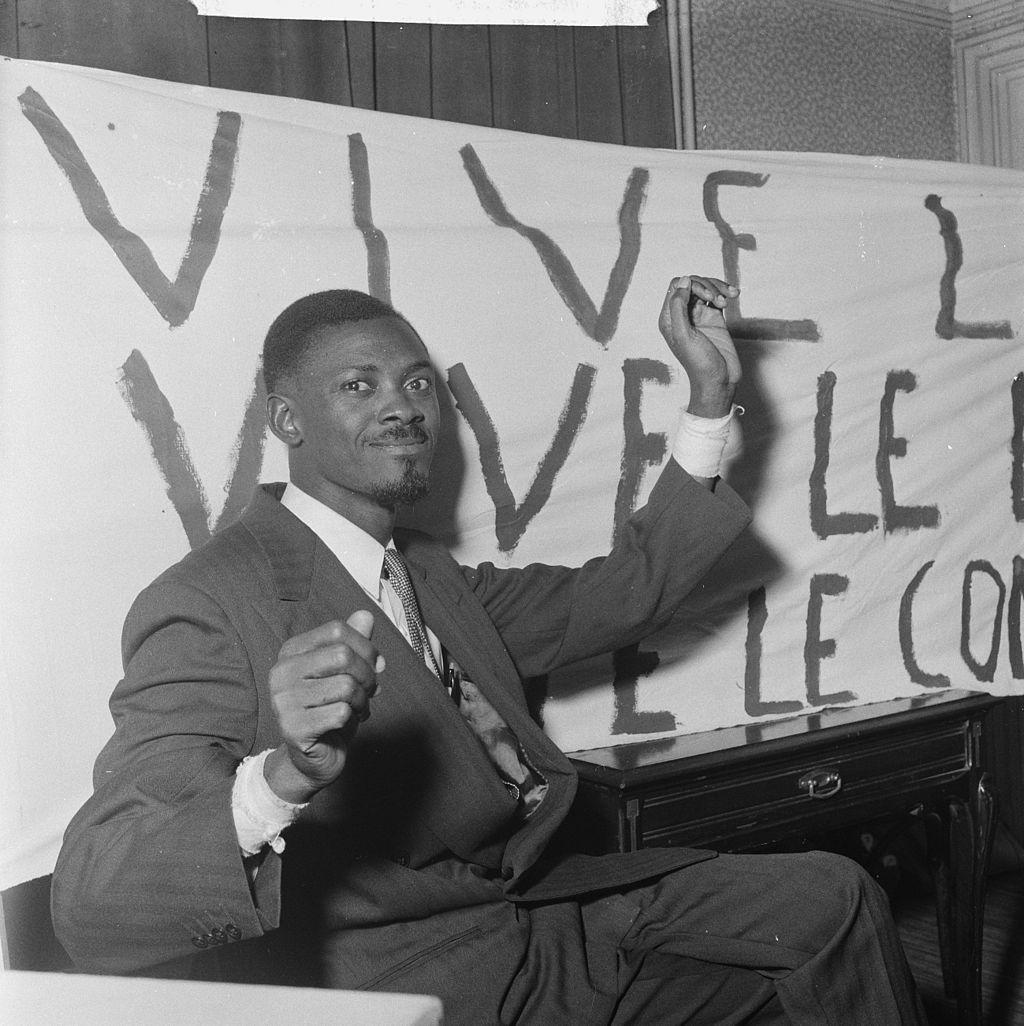 Lumumba à Bruxelles en 1960