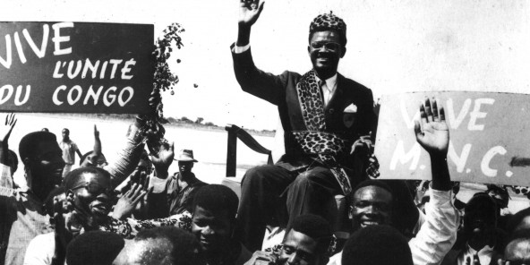 Lumumba le 1er stepembre 1960 à Stanleyville