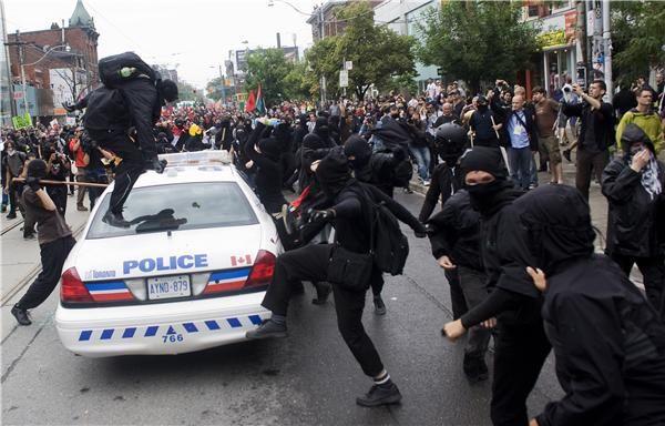 Manifestation contre le G20 à Toronto (2010)