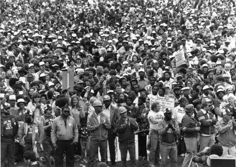19 septembre 1981: Journée de solidarité avec les grévistes de PATCO