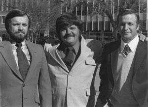 1983: Les syndicalistes Lee Grant, Ron May et Gary Greene devant un tribunal fédéral