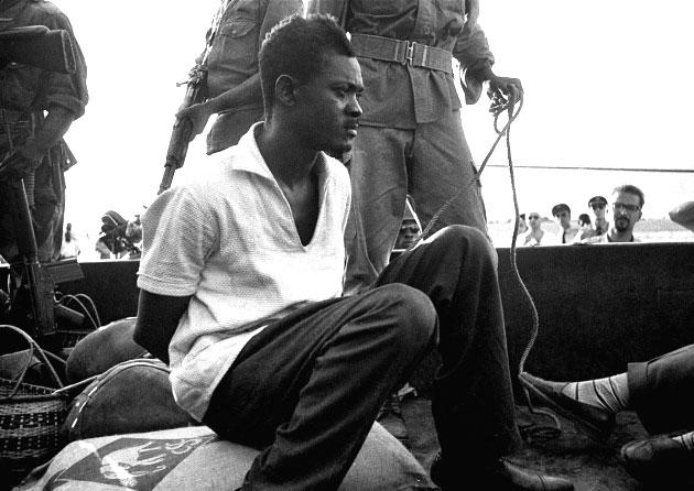 Lumumba prisonnier
