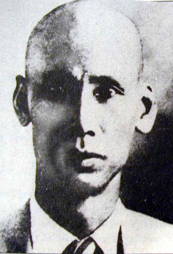 Ho Chi Minh en 1932, au moment de son emprisonnement par les Anglais à Hong Kong)