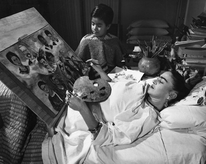 Frida Khalo (photo de Tina Modotti)