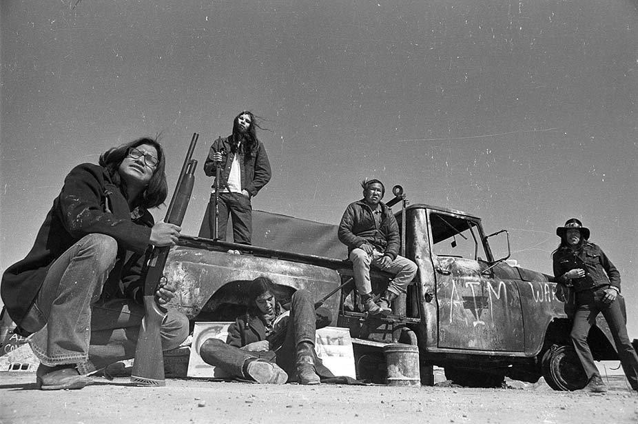 Occupants de Wounded Knee: la classe américaine