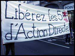 Manif pour Action Directe