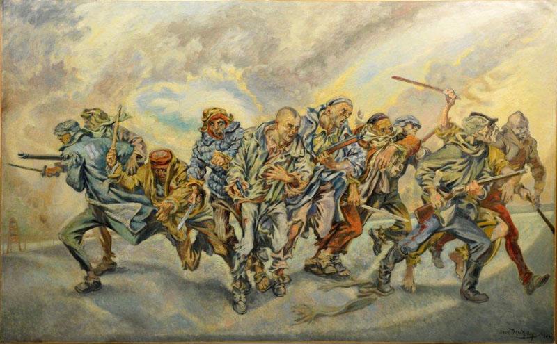 L'insurrection de Buchenwald Boris Taslitzky