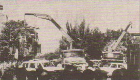 Pendaison en masse à Tabriz, été 1988