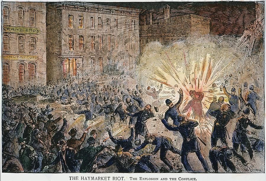 L'explosion de la bombe de Haymarket