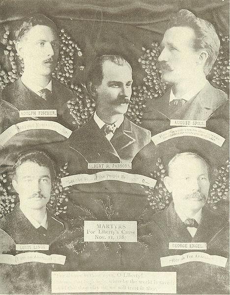 Les martyrs de Haymarket