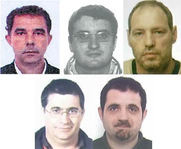 Cinq militants du SR arrêtés