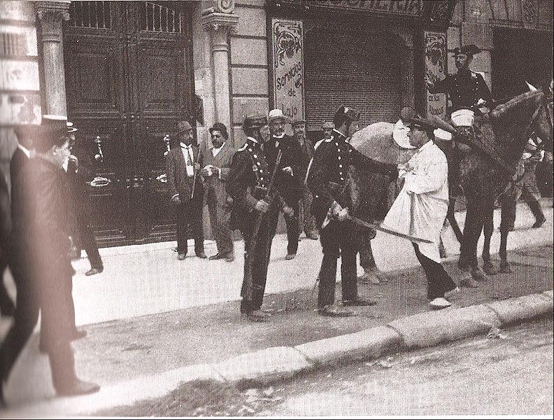 Semaine tragique à Barcelone 1909