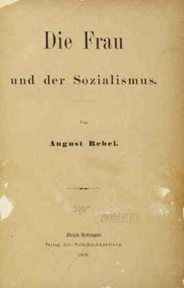 Die Frau und der Soczialismus