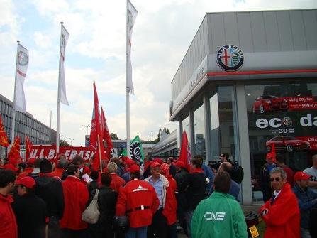 Manifestation pour IAC