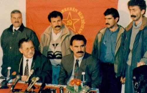 Talabani et Ocalan