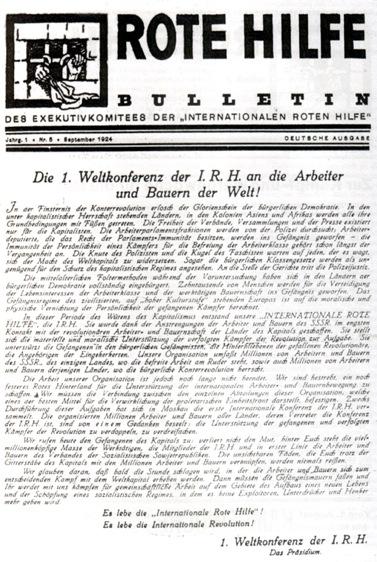 Bulletin du SRI