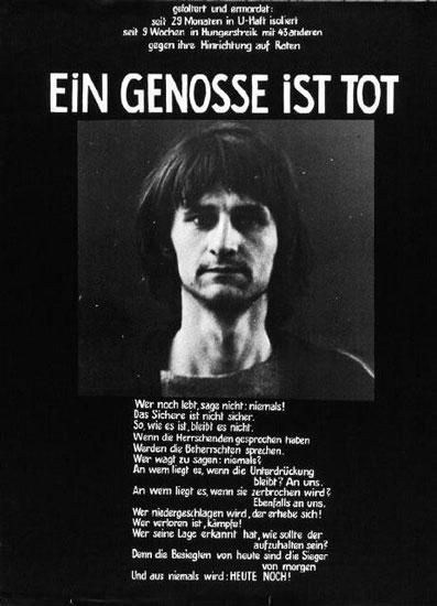 Affiche pour Holger Meins