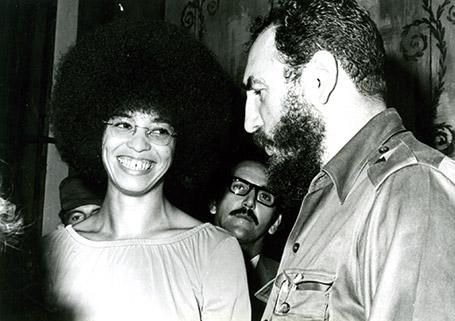 Angela Davis Fidel Castro