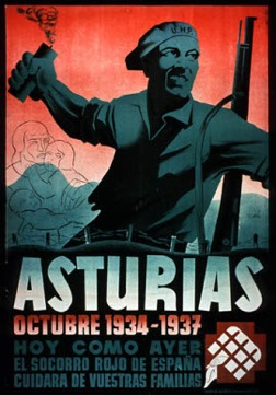 Affiche pour les asturies