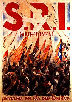 Affiches du SRI catalan