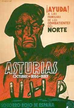 Affiche pour les asturiens