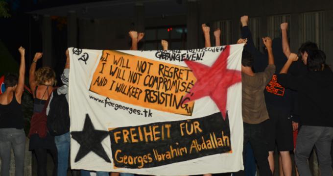 Rassemblement Georges Ibrahim Abdallah Berne