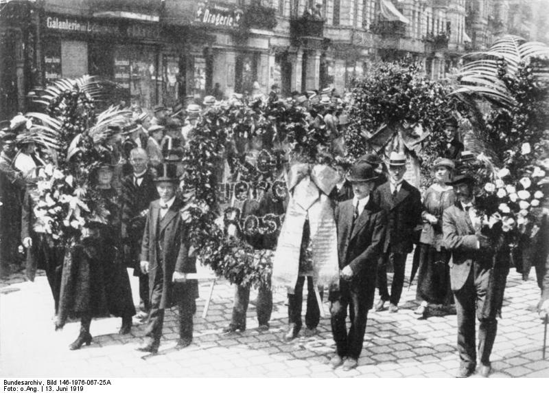 Funérailles de rosa Luxemburg