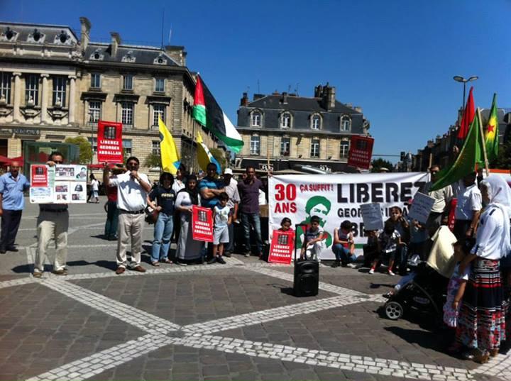 Rassemblement Georges ibrahim Abdallah Bordeaux
