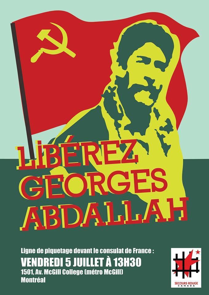 Georges Ibrahim Abdallah Montréal
