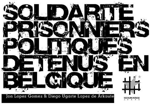 Carte postale pour les militants basques