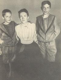 Clara Zetkin et ses fils