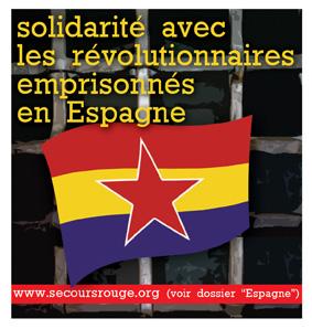 Autocollant pour les prisonniers espagnols