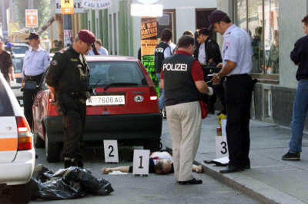 Horst-Ludwig Meyer abattu par la police autrichienne