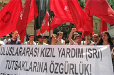 Rassemblement solidaire à Istanbul