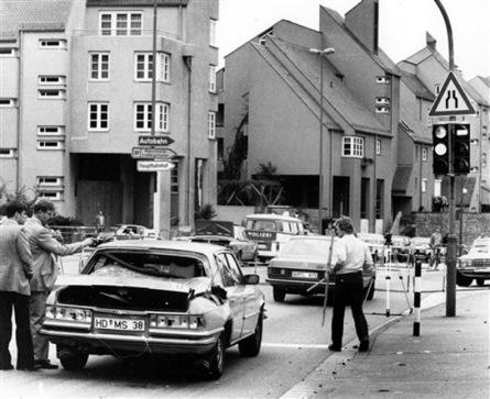La Mercedes blindée de Kroesen