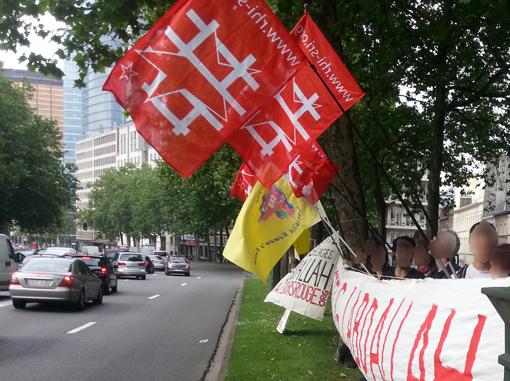 Rassemblement Bruxelles Georges Abdallah