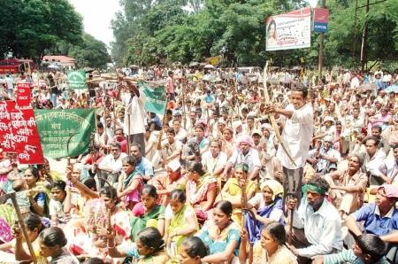 Manifestation adivasis