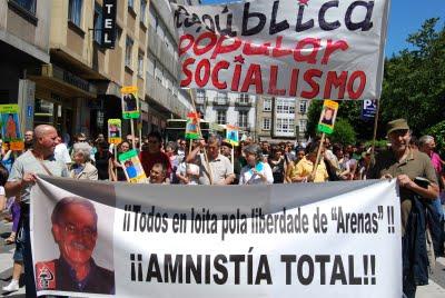 Manifestation pour Arenas