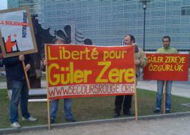 Rassemblement pour Güler Zere
