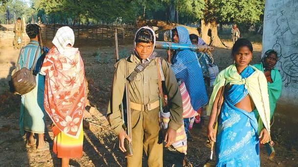 Jeune combattant d'une milice villageoise