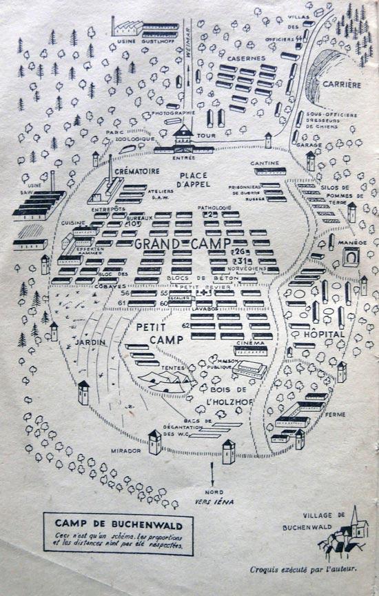 Quelques un des 60.000 déportés tués à Buchenwald
