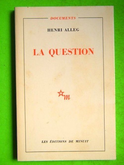 La Question d'Henri Alleg